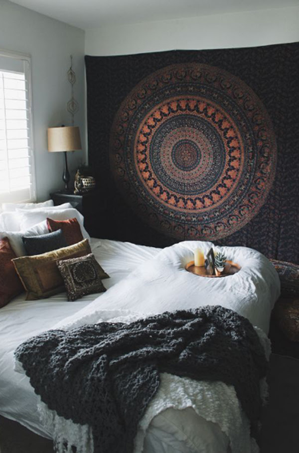 40 Best Tapestry Bedroom Ideas With Bohemian Vibes ...