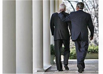 George W Bush and McCain