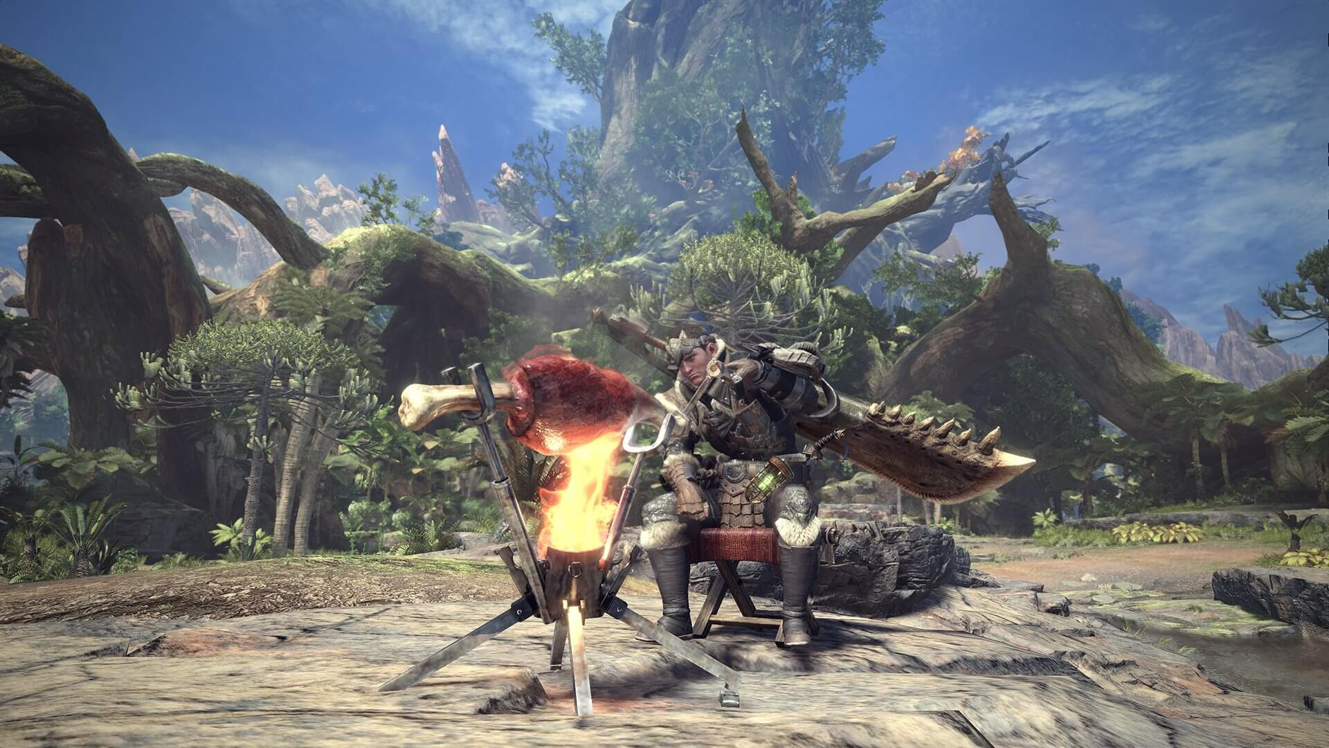 Here is a laundry list of ways you'll be hunting in Monster Hunter: World screenshot