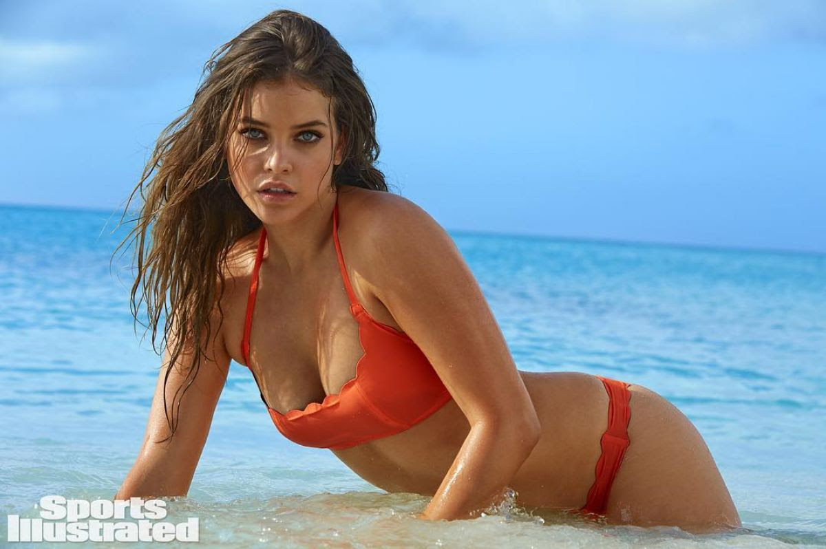 BARBARA PALVIN in Sports Illustrated Swimsuit 2016 Issue