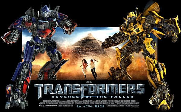 The TRANSFORMERS 2 standee that will appear in theaters next month.
