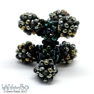 gwenbeads: Beaded Ethane Molecule with CSRAW