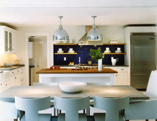 Addition and Renovation to a Coastal Home - beach style - kitchen ...
