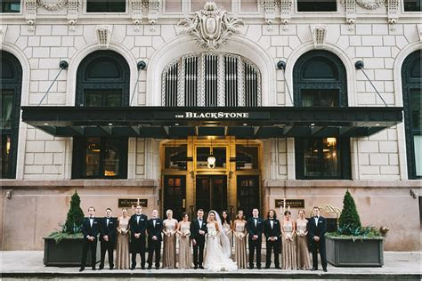 A Fall Wedding at the Blackstone Hotel