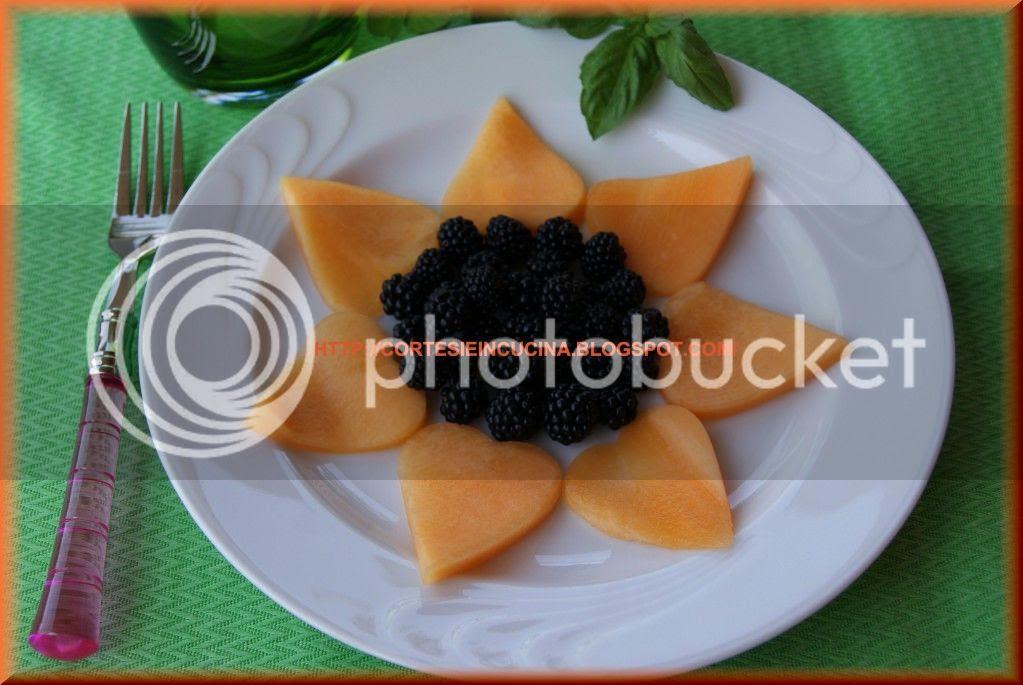 Girasole di melone e more