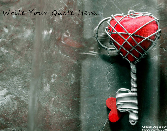 Key To My Heart 1 4 Cute Wallpaper Love Quotes Pendant