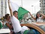 supportrices Algérie  Coupe du Monde 2014