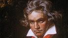 Portrait of German composer Ludwig van Beethoven by German painter Joseph Karl Stieler, circa 1820.