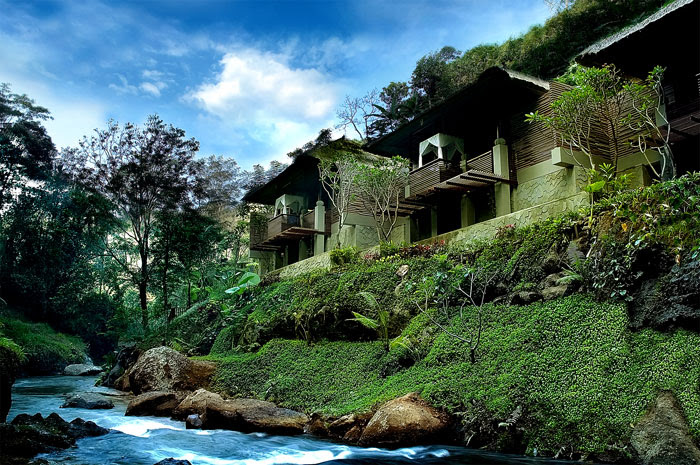 maya ubud river view