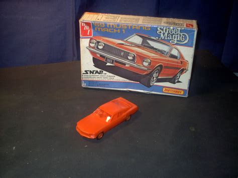 model kit  mustang mach  built ebay