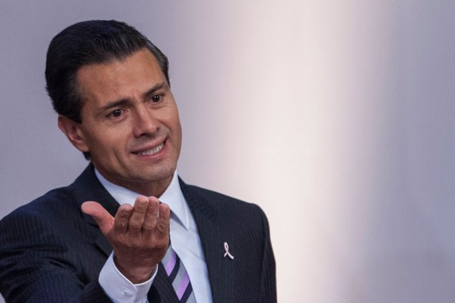 El titular del Ejecutivo, Enrique Peña Nieto. Foto: Octavio Gómez