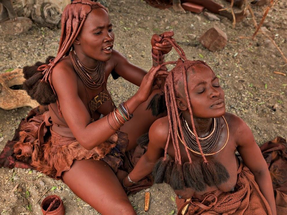 Himba women, Namibia