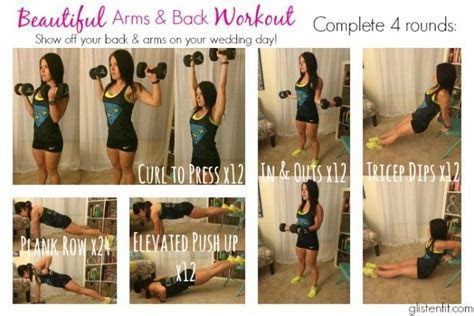 5 exercises that make your arms and back look amazing on