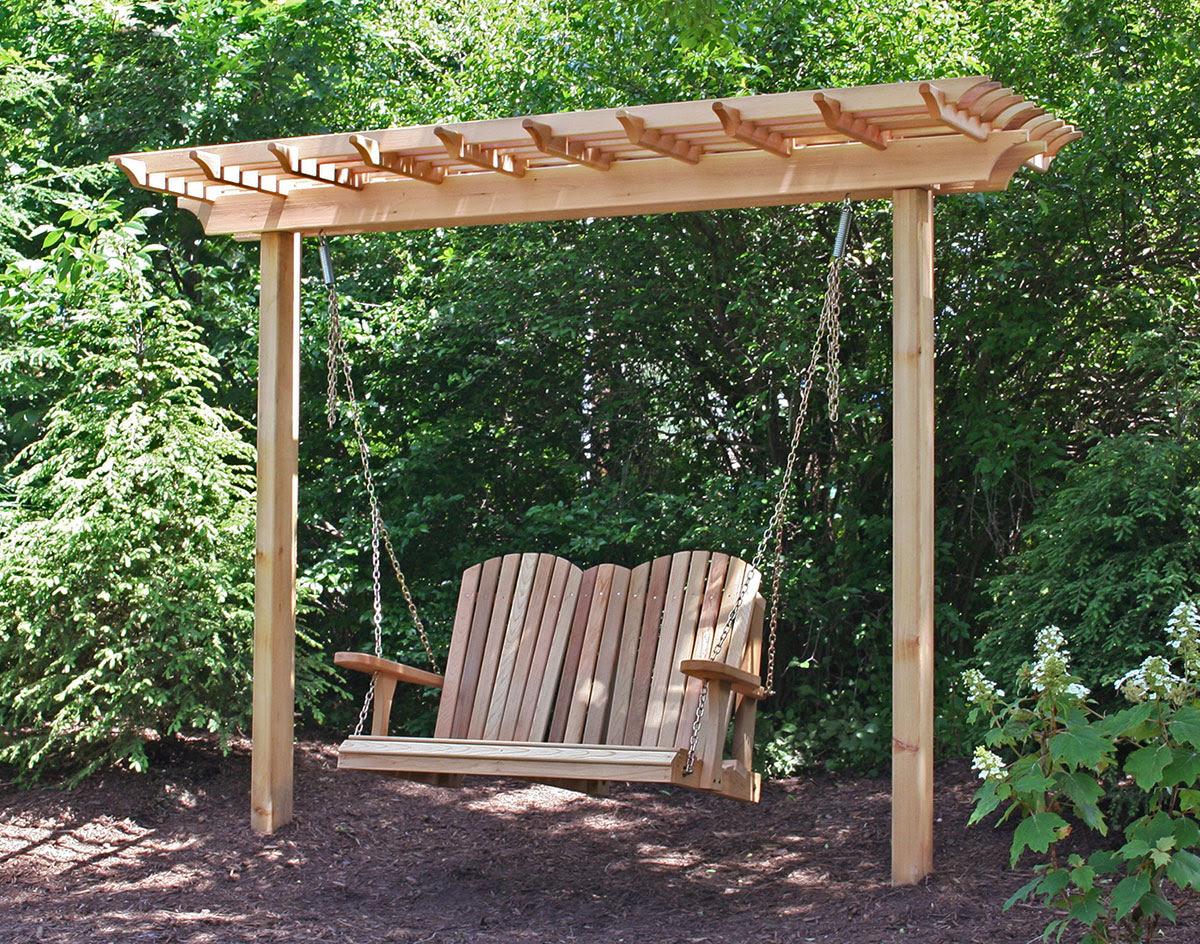 Image of: Backyard Idea Porch Swings Fire Pit Circle Porch Swings Patio Swings Outdoor Swings