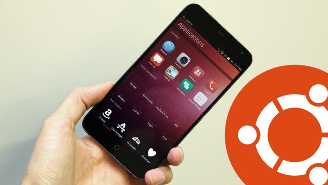 Meizu MX4 Pro Spotter Running Ubuntu Touch