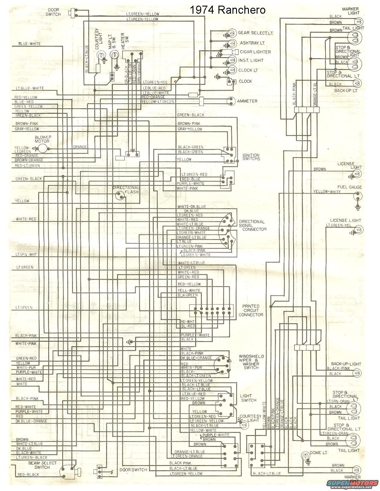 72 76 Wiring Diagrams Ranchero Us