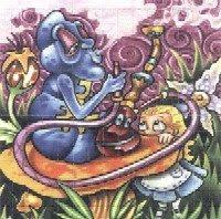 Alice in the wonderland (lsd blotter)