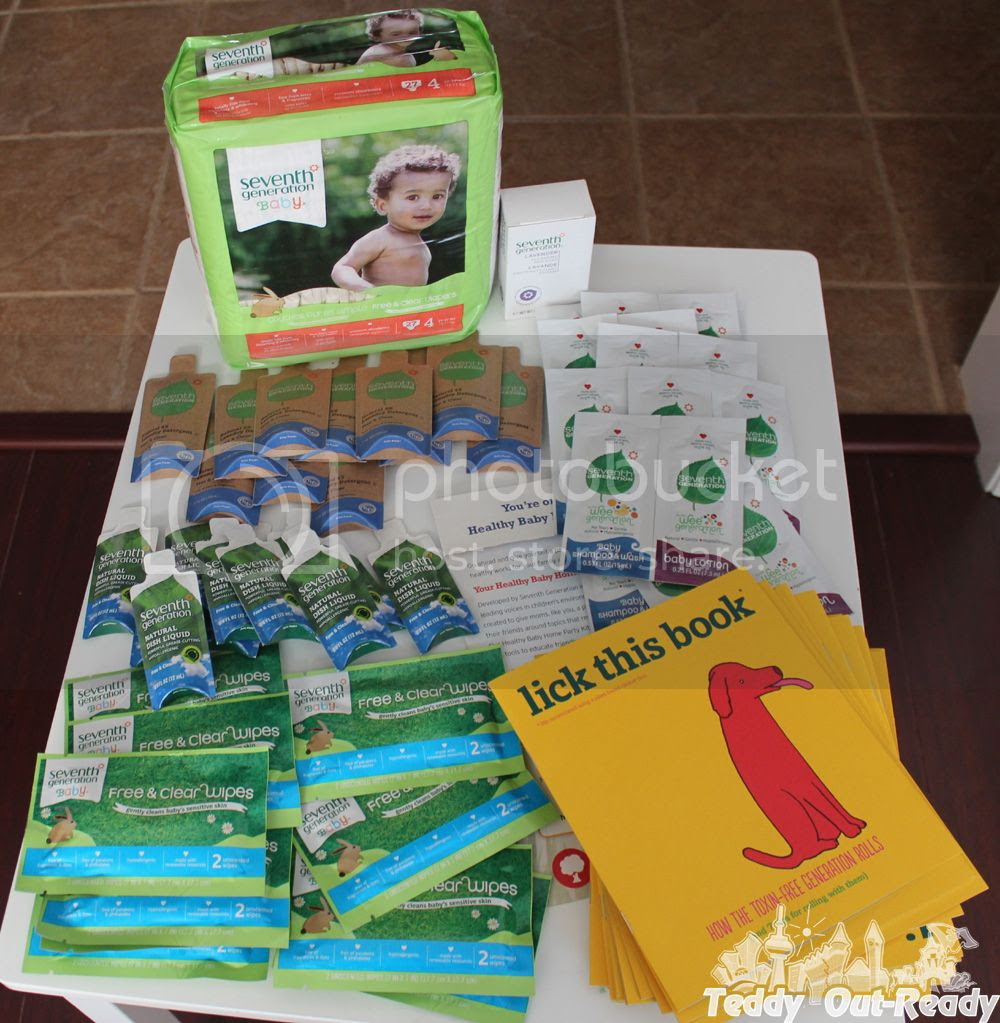 Seventh Generation Healthy Baby Party Products