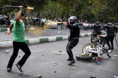 Iran election violence