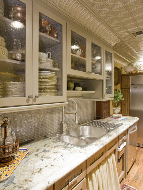 Glass Front Kitchen Cabinets Home Design Ideas, Pictures ...