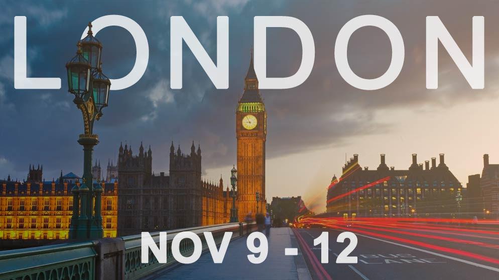 LONDON: Nov. 9-12