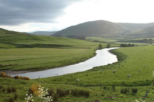 Scottish Road near Selkirk