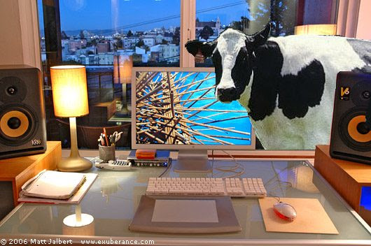 Vaca no workspace