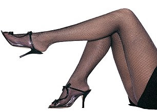 Fishnets: They add a touch of old Hollywood glamour