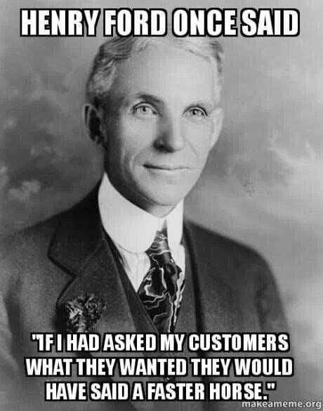 Innovative. | Funny pics | Henry ford, Henry ford quotes