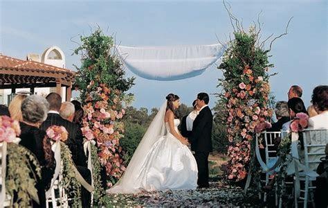 Spanish Style Outdoor Wedding in Santa Barbara, California