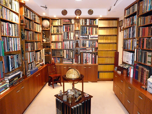 Private home reference library by warwick_carter, on Flickr