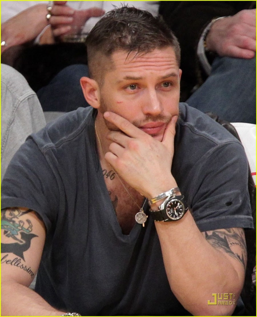 Grand Tattoo Tom Hardy In The Left And Right Arm Tattoomagz
