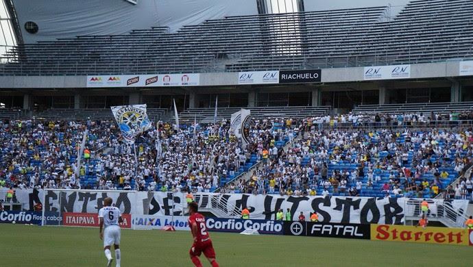 Arena das Dunas - estrutura temporária (Foto: Augusto Gomes)