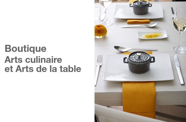 Boutique Arts culinaires et Arts de la table