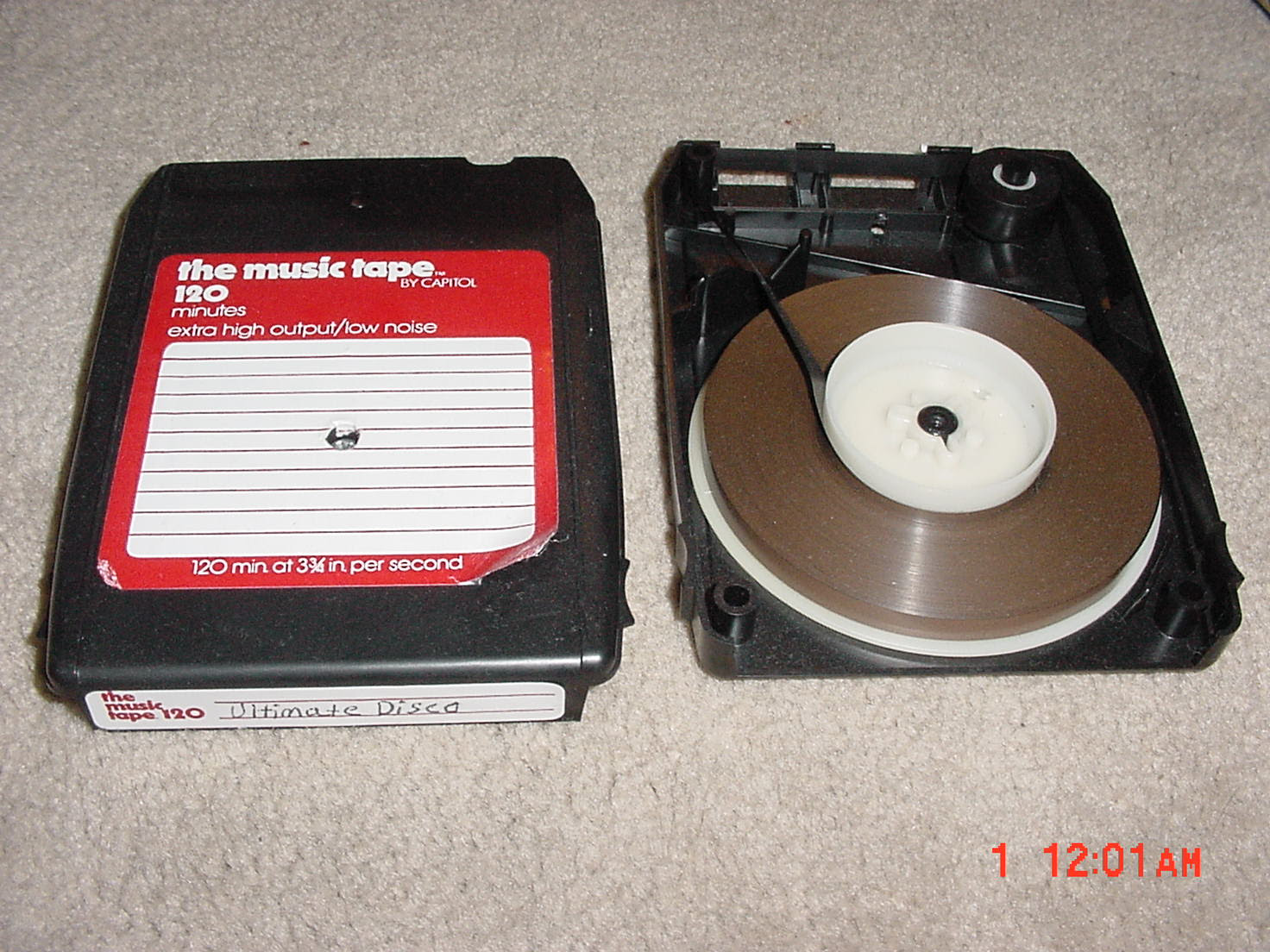 Blank 8 Track Tapes