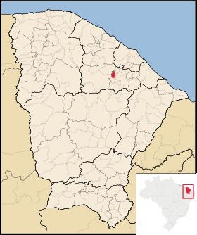 Localização de Mulungu