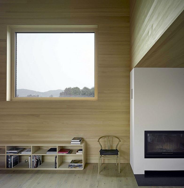 Una casa en el campo - Architekt DI Bernardo Bader, decoracion, diseño, interiores, muebles