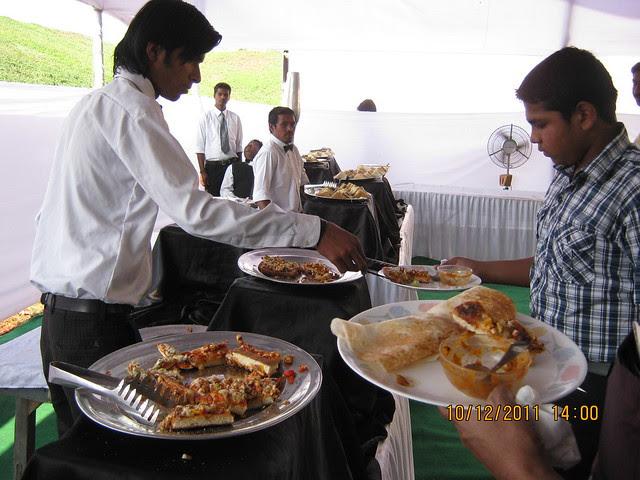 Pizza Stall at the food court of  Kolte-Patil Life Republic, Marunji - Hinjewadi, Pune 411 057