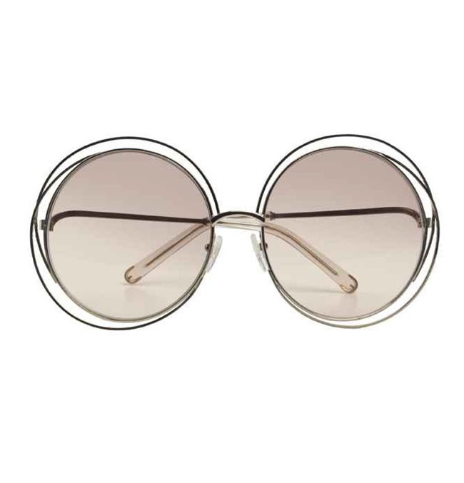 8 Chloe carlina sunglasses