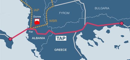 Τουρκική τρικλοποδιά για τον αγωγό TAP στην Ελλάδα