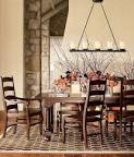 Picture of Furniture: Rustic Dining Room Design Floral Vase ...