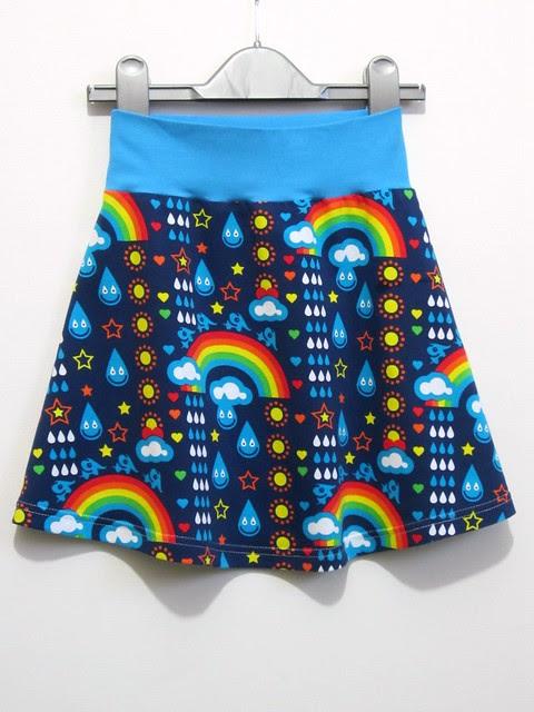 Rainbowphant Tennis Skirt