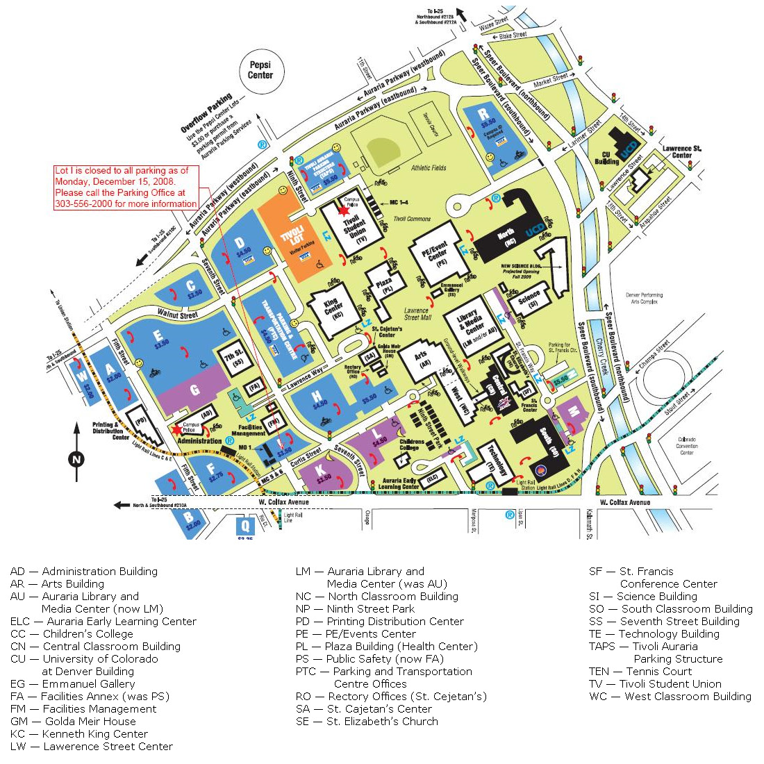 Allan Hancock College Campus Map Global Map