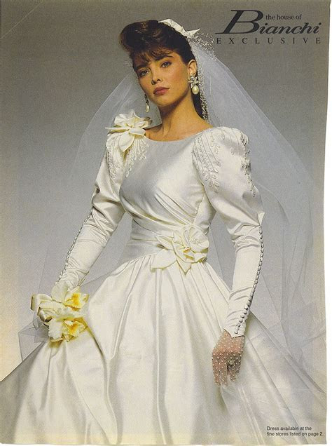1990's The House Of Bianchi wedding gown   1990 1999
