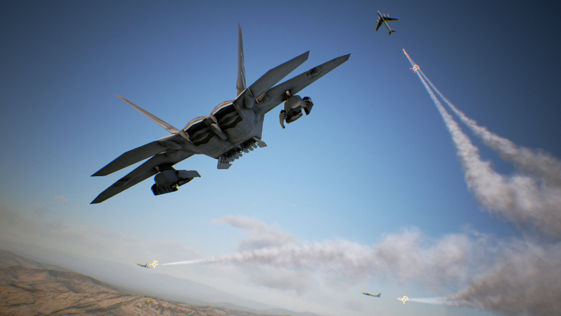 Watch 14 minutes of Ace Combat 7 footage with no sappy story screenshot