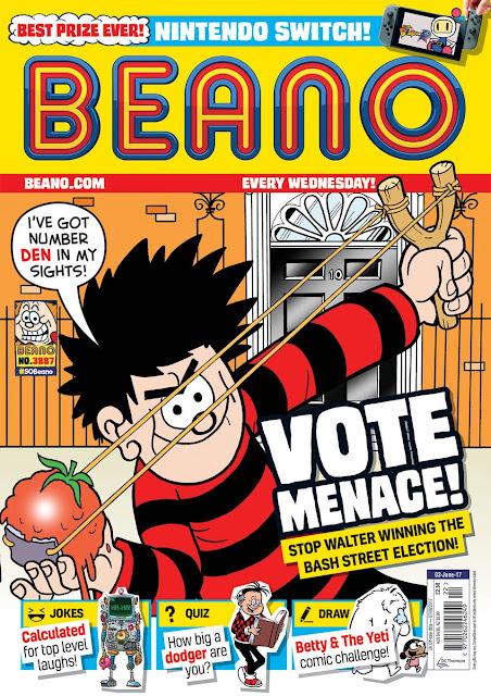 This week's BEANO...