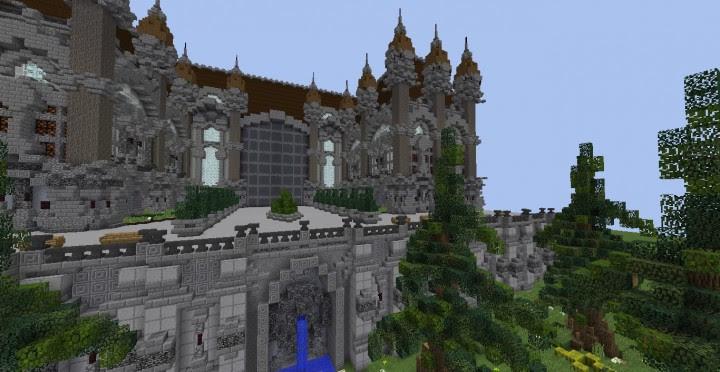 Fantasy Mansion Plot - Minecraft Building Inc