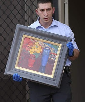 Police have recovered artworks worth over $1.5 million.