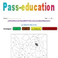 Féminin Des Noms Ce2 Coloriage Magique Pass Education