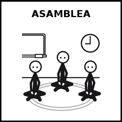 Resultado de imagen de ASAMBLEA PICTO